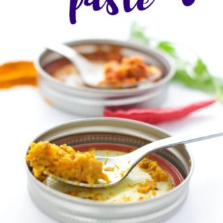 Fragrant with aromatics, spices, and herbs, Thai Yellow Curry Paste is easy to make and a delicious addition to your fast dinner pantry staples.