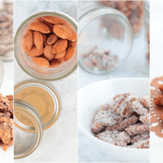 Roasted Nuts Four Ways - sweet, savory, four techniques and recipes